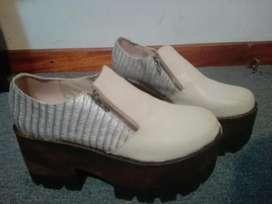 Zapatos con Cierre N 38