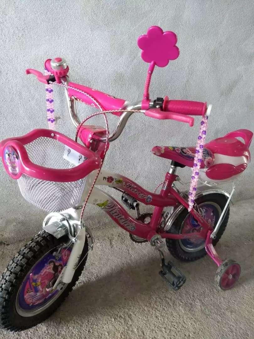 Vendo bicicleta de nena rodado 12 0km! 0