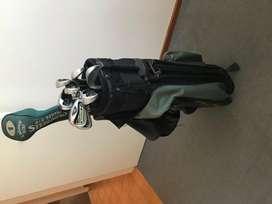Juego palos de golf con bolso