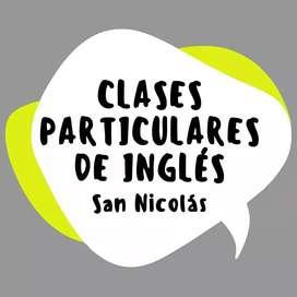 Clases particulares de inglés en San Nicolás
