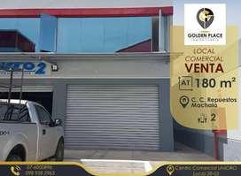Local Comercial en Venta a estrenar, C.C. Repuestos Machala