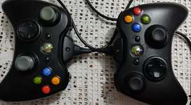 Controles Xbox con Carga y Juega