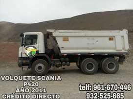 VOLQUETE SCANIA P420  2011
