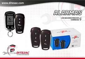 Alarmas Quality y Prestige para vehículos