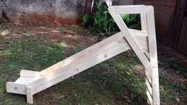 tobogan de madera para niño
