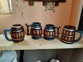 Artesanía vasos cerveceros