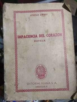 Libro (novela) IMPACIENCIA DEL CORAZÓN
