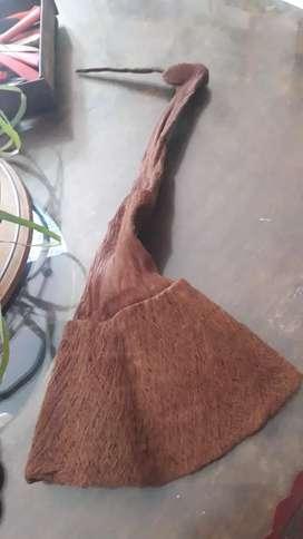Gorro duendecillo en fibras de coco