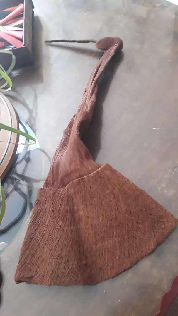 Gorro de duendecillo en fibras de coco
