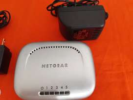 Switch mini hub ethernet para dividir señal de internet de 4 5 y 8 entradas
