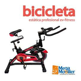 Bicicleta Estática EV-Fitness Profesional | Spinning