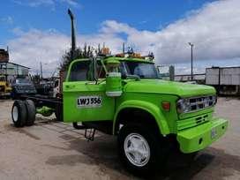 Vendo camión dodge d500 servicio publico diésel con motor nissan 205