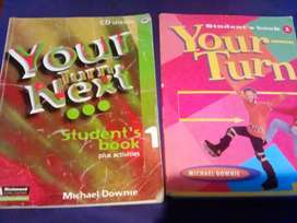Libros de inglés Your Turn y Your Turn Next