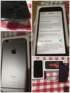 Iphone 6s silver de 64g