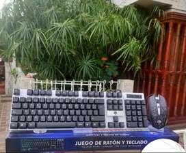 Combo Gamer Iluminado Usb -G121
