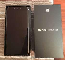 Huawei mate 20 lite cómo nuevo 10/10 en caja con todo