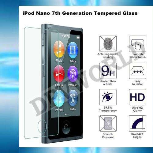 Mica Ipod Nano 7 Vidrio Templado Mica Hd Ipod Nano 7 Vidrio 0