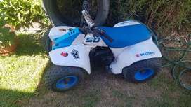 Cuadron de niño motor 50 cc zusuki perfecto estado dos tiempos