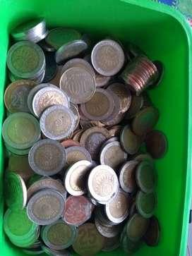 15 monedas provingias de $1