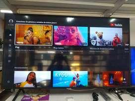 "Televisor Samsung Smart TV de 55"" uhd"