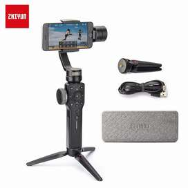 Estabilizador Zhiyun Smooth 4 para celulares