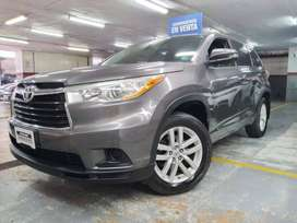 TOYOTA HIGHLANDER 2.7 AT 4X2 AÑO 2015