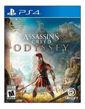 Assassins Creed Odyssey Ps4 Físico - Nuevo - Sellado