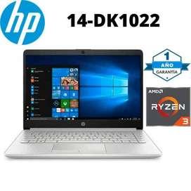 PORTATIL HP 14-DK1022 AMD RYZEN 3 3250U