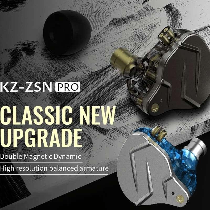 Kz Zsn Pro (knowledge Zenith) Audífonos In Ear (1ba 1dd) 0