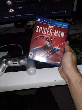 Vendo o cambio Spiderman ps4