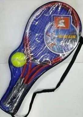 Raquetas De Tenis 2 Unidades C/ Pelota Y Estuche Economica