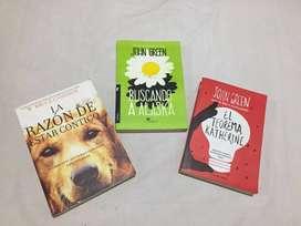 Vendo tres libros en perfecto estado.
