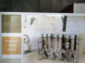 Condimenteros marca Belia