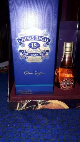 Whisky 18 años