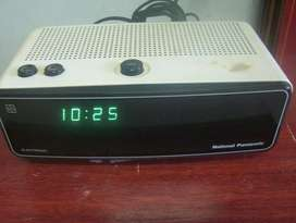 RADIO RELOJ DESPERTADOR NATIONAL PANASONIC RC300BS JAPAN RETRO VINTAGE, usado segunda mano  Mar del Plata, Buenos Aires