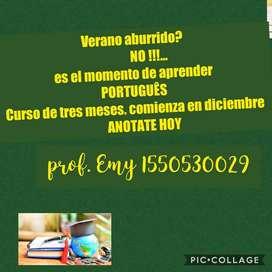 Entrenadora de idioma Português