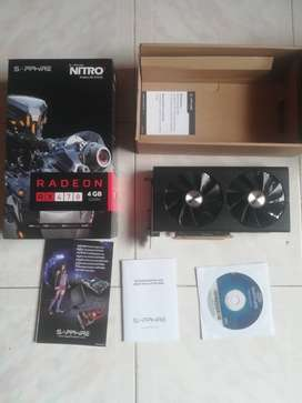 Tarjeta De Video Radeon Rx 470 4gb Nitro Gamer