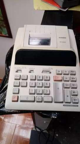 Vendo esta calculadora sumadora casio saca registro