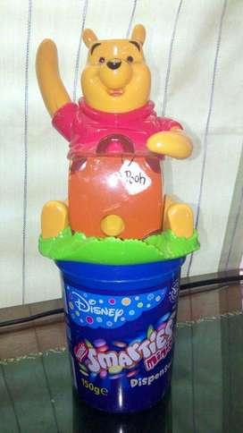 Winnie the pooh dispenser de confites