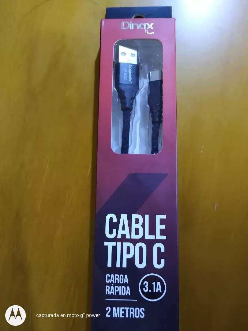 Cable USB ficha C 0
