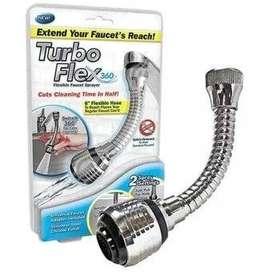 Turbo Flex Extension Flexible Grifo Llave De Agua 360 Nuevo