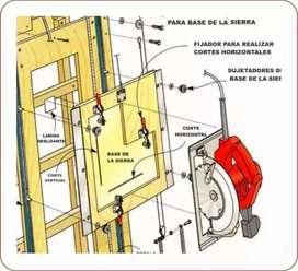 Planos Sierra Vertical  20.000 Proyectos De Carpinteria