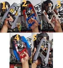 Blaster Elemental Star Lord Marvel Guardianes de la Galaxia Pistola Cosplay Eléctronica