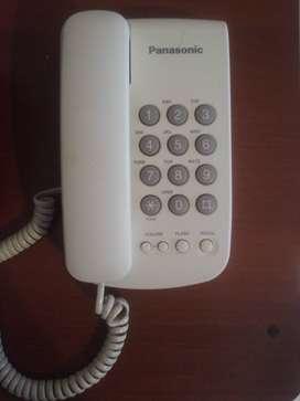 Teléfono fijo  Panasonic   $ 500