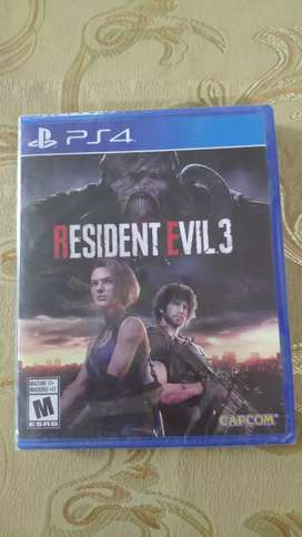 Resident Evil 3 NUEVO/SELLADO