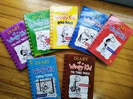 coleccion diario wimpy kid x 7 libros usado