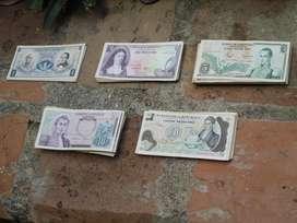 182 Billetes De Colombia