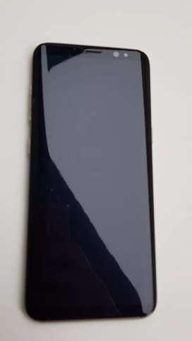 Vendo Samsung S8 impecable poco tiempo de uso. Carga rápida