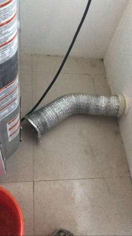 Tecnico de aires acondicionados, lavadora, cecadora ,refrigeradora, calefon también a domicilio