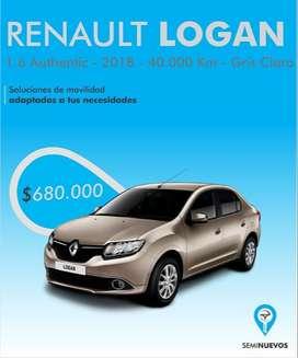 Renault Logan 2018 - 43000km